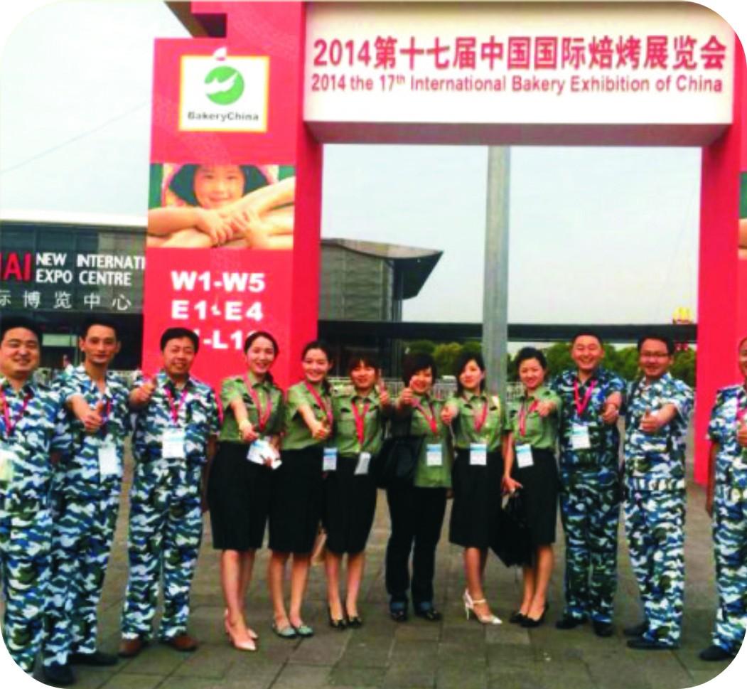 昊东食品2014上海展