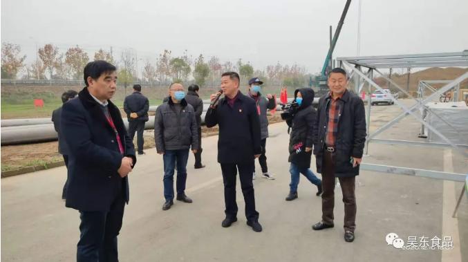 昊东食品10万平净化车间重建已进入设备进场调试阶段